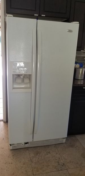 Whirlpool refrigerator said by side for Sale in Los Angeles, CA