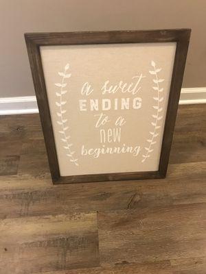 Wedding sign for Sale in Christiansburg, VA