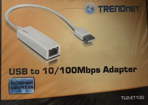 New USB to Ethernet Adapter for Sale in Irwindale, CA