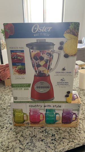 Oster Blender and mason jars Combo deal for Sale in Miami, FL