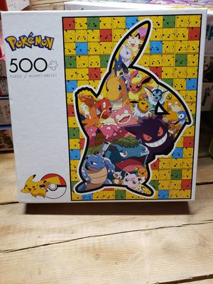 POKÉMON 500pc Buffalo Games Puzzle NEW for Sale in Indianapolis, IN