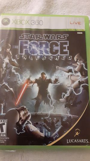 X box 360 star wars the force unleashed game for Sale in Fresno, CA