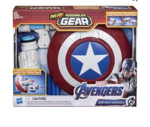Nerf Avengers Captain America Gear for Sale in Los Angeles, CA