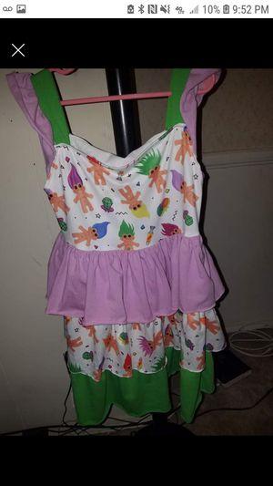 Sz 7/8 trolls dress for Sale in Speedway, IN