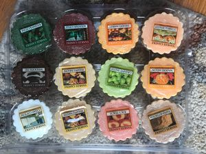 Yankee Candle tarts! 12 miscellaneous flavors! I have many more scents. 1 dollar a piece. for Sale in Herndon, VA