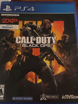 Call of duty black ops 4 for Sale in Davie, FL