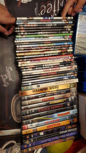 Used Dvd collection (50 DVDs total) $40 obo *pick up only* for Sale in Hacienda Heights, CA