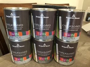 Benjamin Moore Chalkboard Paint * Tint To Any Color * for Sale in Romeoville, IL