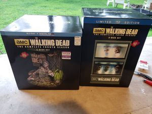 WALKING DEAD SEASON 3 and 4 BRAND NEW IN BOX for Sale in Berkeley Township, NJ