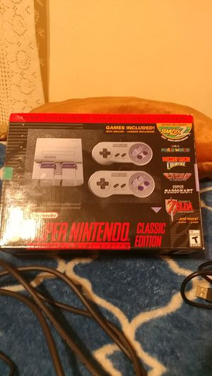 Super Nintendo Classic Edition for Sale in Mesa, AZ