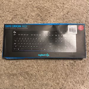 G610 Orion Red Keyboard for Sale in Reedley, CA