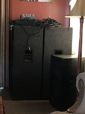 Dj equipment (powerful sound) for Sale in Chino, CA