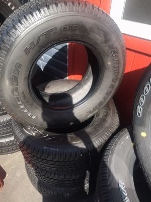 Set 265/70/16 Bridgestone Dueler used $300 including installation and balance for Sale in Montebello, CA