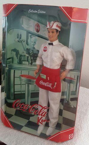 NEW Coca-Cola Soda Jerk Ken Barbie Collector Doll Collector Edition for Sale in Moreno Valley, CA