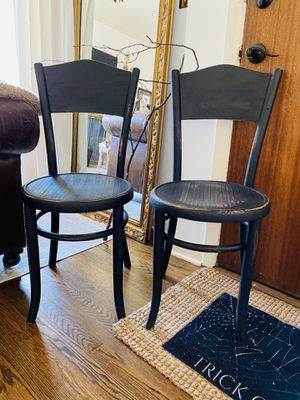 Vintage bentwood chair set of 2 for Sale in Seattle, WA
