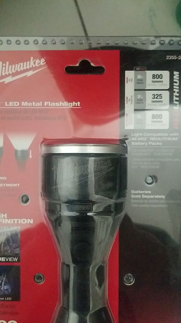 Milwaukee m12 led flashlight