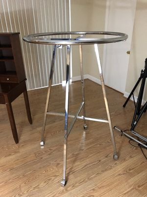 Clothing rounder - stainless steel (chrome?) folding, rolls. for Sale in Tampa, FL