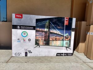 """65"""" TCL ROKU TV 4K UHD HDR SMART TV for Sale in Grand Terrace, CA"""