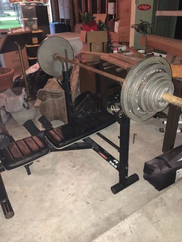 Marcy Pro heavy duty weight bench