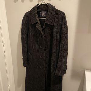 Men's Burberry Heavy Full Length Wool Coat for Sale in Lake Park, FL