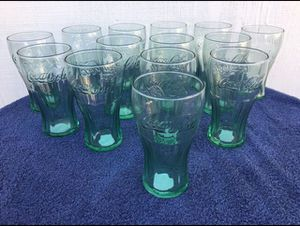Coca Cola Glasses- Set of 14- **NEW**Read Description** for Sale in West Covina, CA