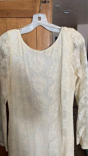 wedding small dress david's bridal for Sale in Salt Lake City, UT