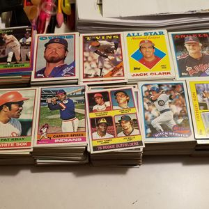 Huge Collection of 2,233 Topps Baseball Cards From 1973 - 2007 for Sale in Las Vegas, NV