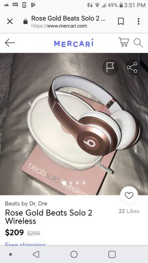 Wirless solo 2 beats headphones for Sale in Columbus, OH