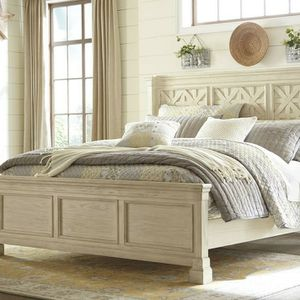 Fast Delivery💥Bolanburg Antique White Queen Panel Bed by Ashley for Sale in Washington, DC
