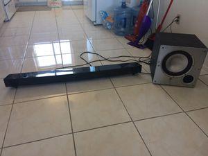 Yamaha USA -152 soundbar and Polk audio PSW10 subwoofer for Sale in Philadelphia, PA