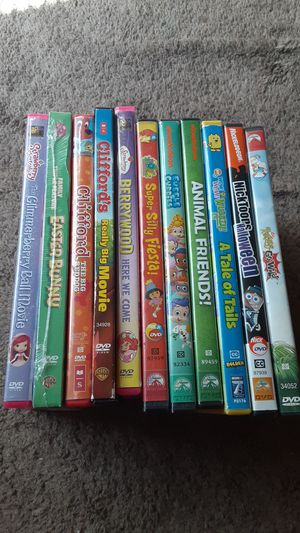 Kids DVD mixed movie lot for Sale in Bakersfield, CA