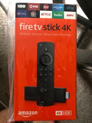 Fire tv stick 4k for Sale in Bellevue, WA