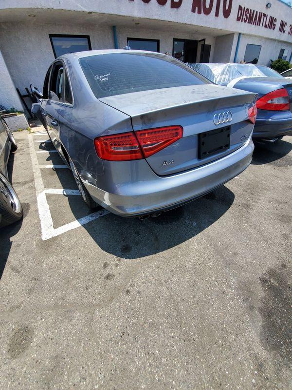 2016 Audi a4 parts car parting out
