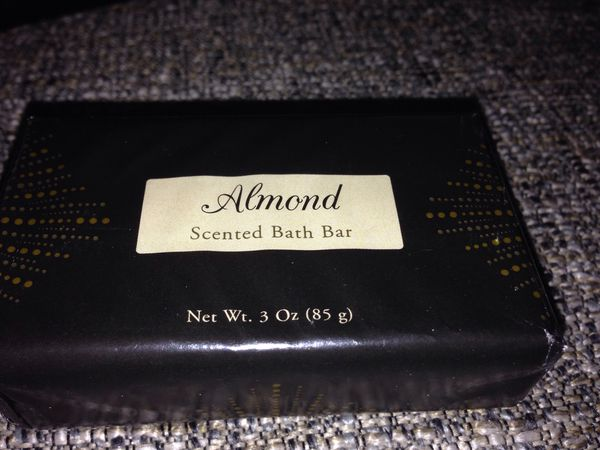 Almond Set of 3 Fragrances Bath Bars. Please See All The Pictures and Read the description