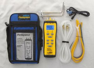Fieldpiece Dual Port Manometer & Pressure Switch Tester Kit SDMN6 for Sale in Fife, WA