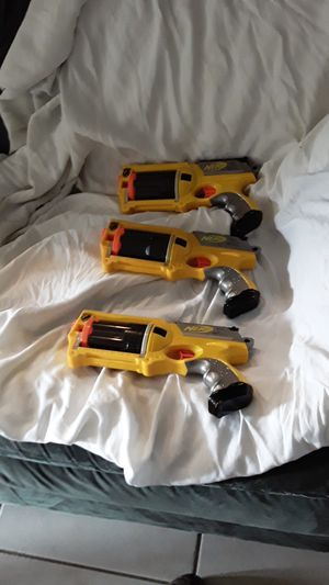Nerf guns 3 maverick rev-6 for Sale in Port St. Lucie, FL