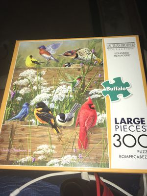 300 large piece buffalo games puzzle. ( NIB!!!) for Sale in Swansea, IL
