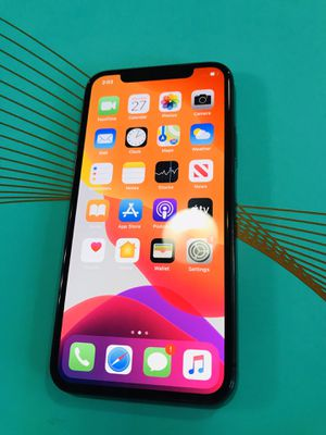 Black iPhone X AT&T for Sale in Buda, TX
