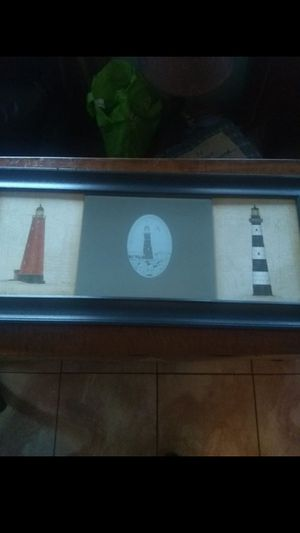Lighthouse themed wall art / mirror for Sale in St. Petersburg, FL