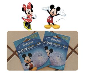 Disneyland Tickets— ONLY — ( 2 ) available for Sale in Hollister, CA