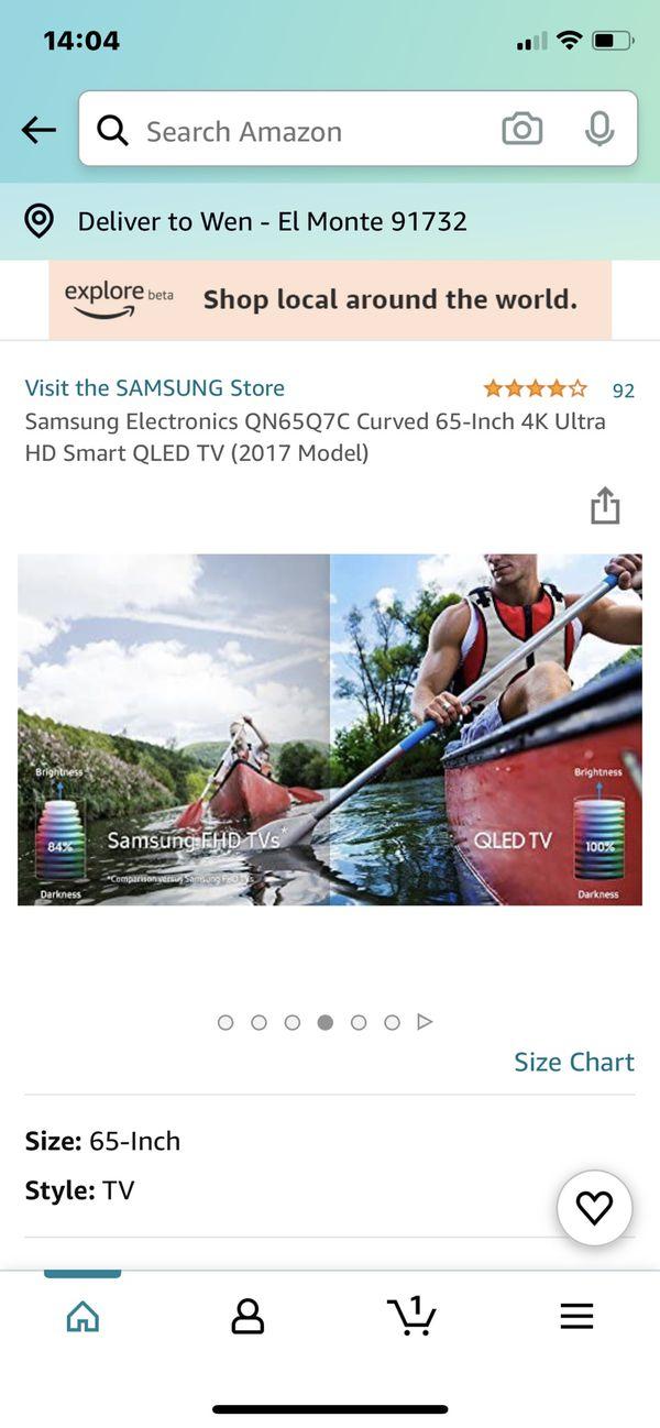 used Samsung Curved 65oled Tv