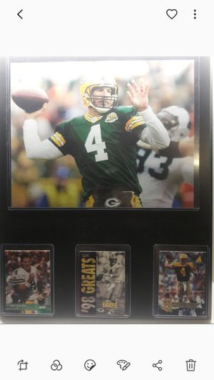 Brett Favre plaque for Sale in CTY OF CMMRCE, CA