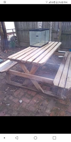 Hand Made Picnic Table for Sale in Parkersburg, WV