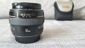 Canon lens EF 50mm f/1.4 for Sale in Seattle, WA