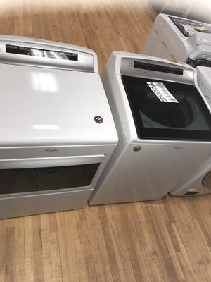 New Washer 4.8CuFt. & Dryer 7.4CuFt. Whirlpool scratch or dent. MFG. 2018 for Sale in Boynton Beach, FL