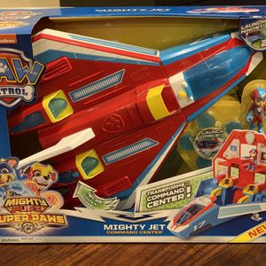 Toys! New Paw Patrol Command Jet. Nice Birthday Christmas Gift for Sale in Allen, TX