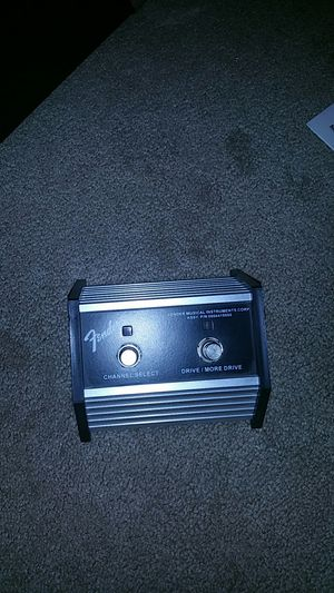 Fender Champion 40 amp and pedal for Sale in Virginia Beach, VA