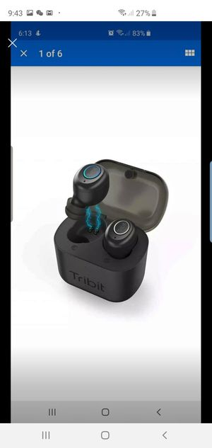 Tribit X1 Wireless Earbuds with Charging Case for Sale in Oakland, CA
