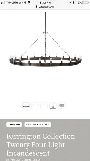 24 Light Incandescent Chandelier for Sale in New York, NY