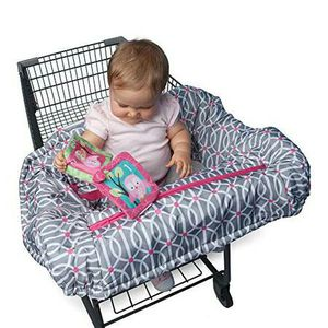 Boppy Shopping Cart and High Chair Cover, Park Gate Pink for Sale in Los Alamitos, CA